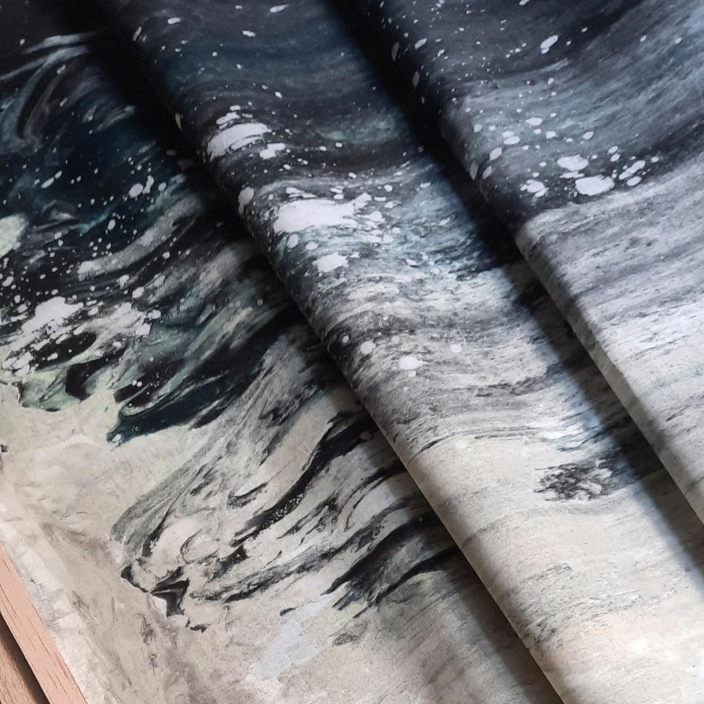 Moonphases scroll #5 New Moon Studio Poca Uit Het Gareel