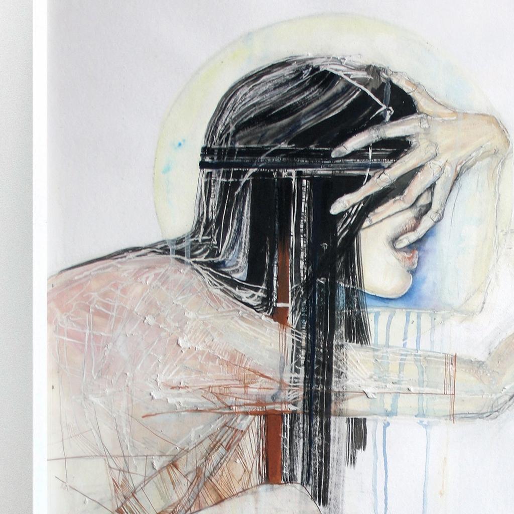 Thirst | Framed painting Studio Poca Uit Het Gareel