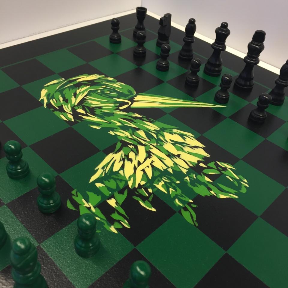 Chessboard Niels Weerheim Uit Het Gareel