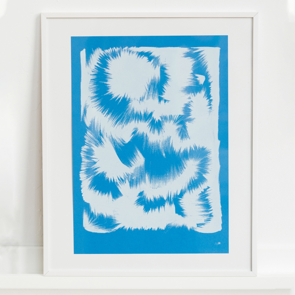 Cloud in Blue Mwahrk Uit Het Gareel