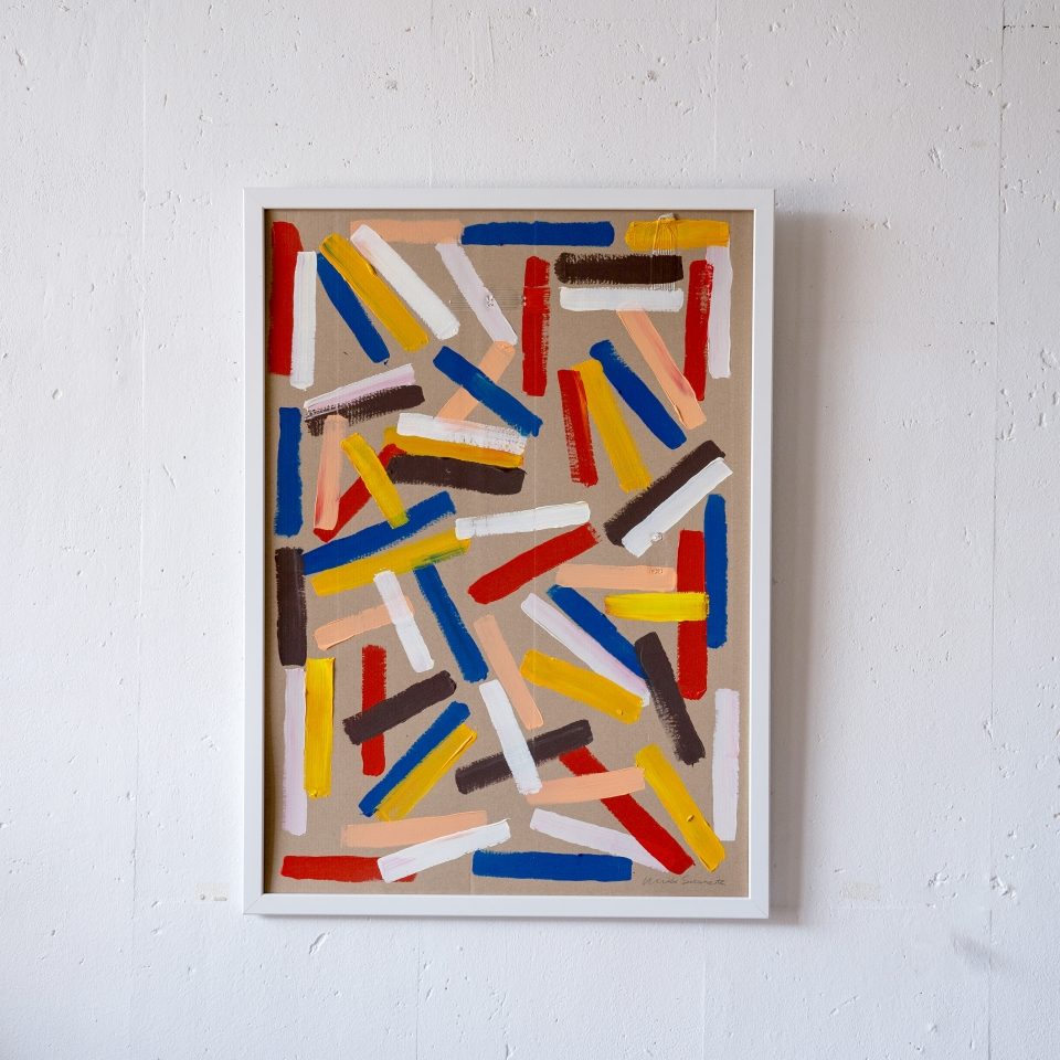 Stripe Painting Mwahrk Uit Het Gareel