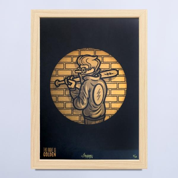 The night is golden I Jawgem Uit Het Gareel