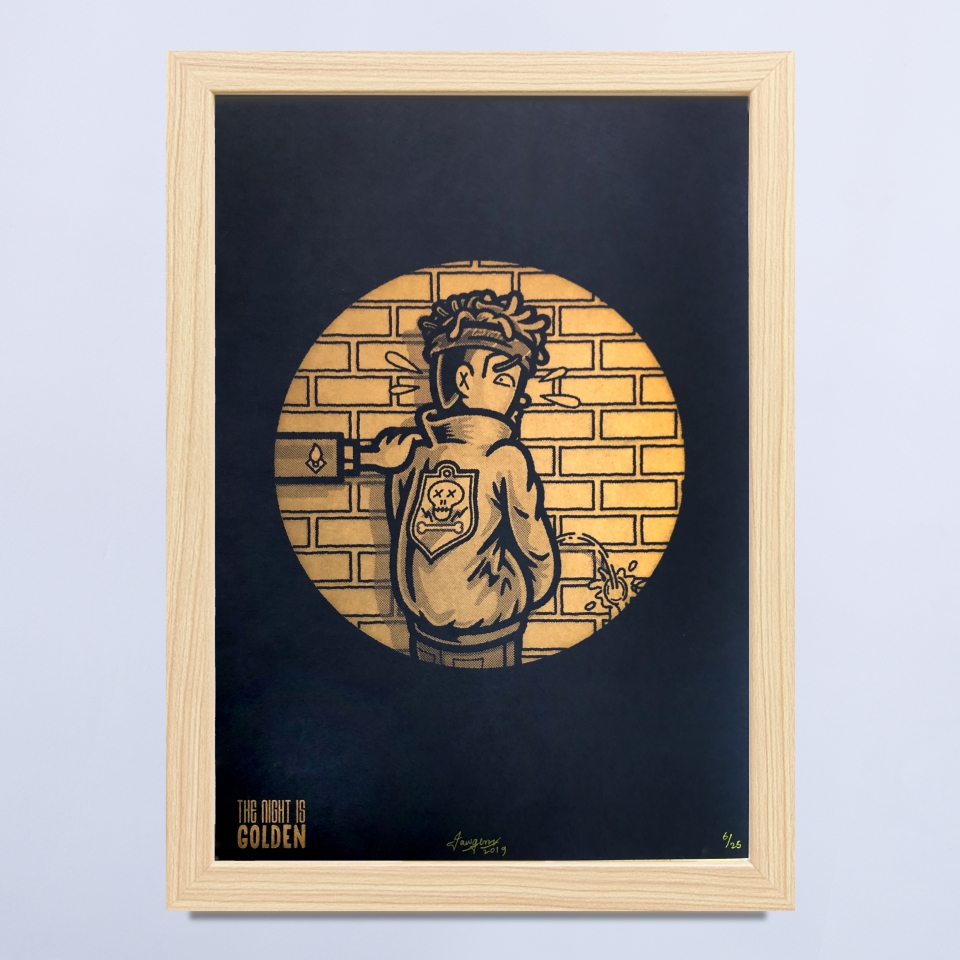 The night is golden III Jawgem Uit Het Gareel